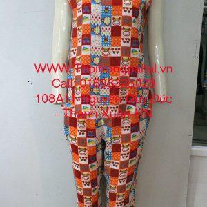 Bộ đồ lanh mặc nhà bi cà rốt 1644018