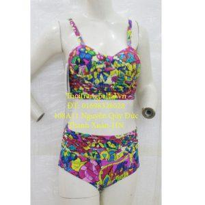 áo tắm nữ bikini hoa