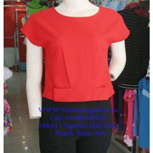 áo sơ mi nữ màu đỏ