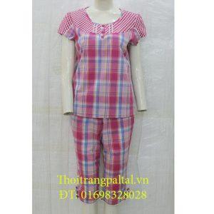 Bộ đồ cộc tay quần ngố wonnerful hồng sen 3060