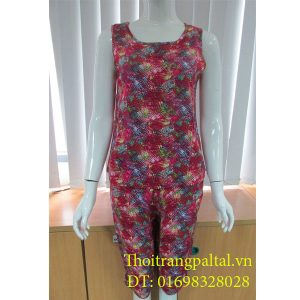 Bộ quần áo lanh wonnerful tím sen l925