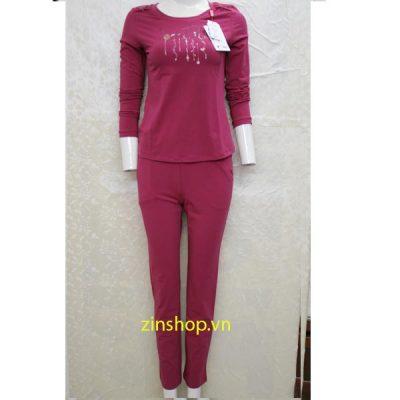 Bộ đồ mặc nhà thu đông 0332121