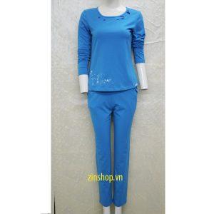 Bộ mặc nhà thu đông Wonnerful WFT2642D