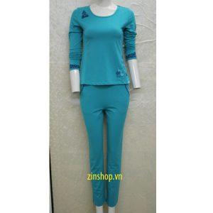 Bộ mặc nhà thu đông Wonnerful WFT2802D
