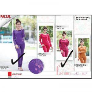Bộ mặc nhà thu đông Paltal 0432147