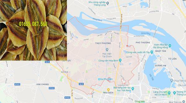 Đại lý bán cá chỉ vàng khô tại Bắc Từ Liêm - Hà Nội