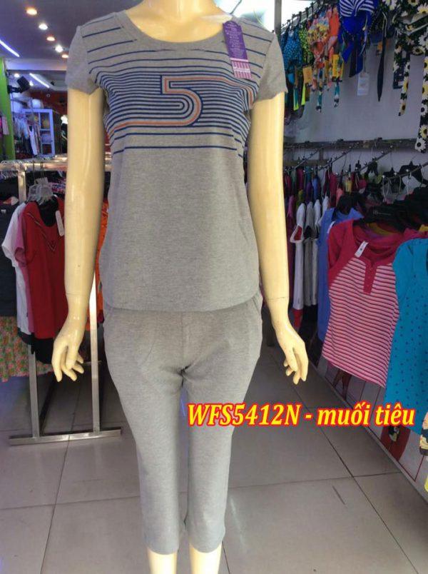 Bộ đồ cotton xuân hè wonnerful WFS5412N