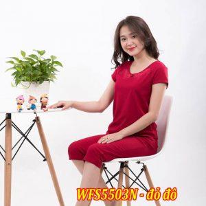 Bộ đồ cotton xuân hè wonnerful WFS5503N