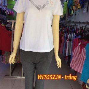 Bộ đồ cotton xuân hè wonnerful WFS5523N