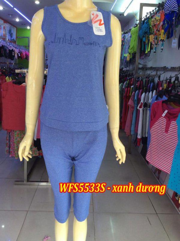 Bộ đồ cotton xuân hè wonnerful WFS5533S