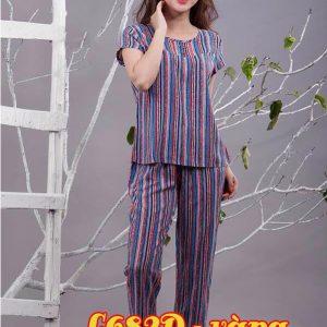 Bộ đồ mặc nhà lanh L682D