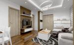 Báo giá thiết kế, thi công nội thất chung cư gỗ công nghiệp Melamine