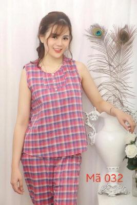 Chuyên bộ quần áo mặc nhà vải thô đẹp