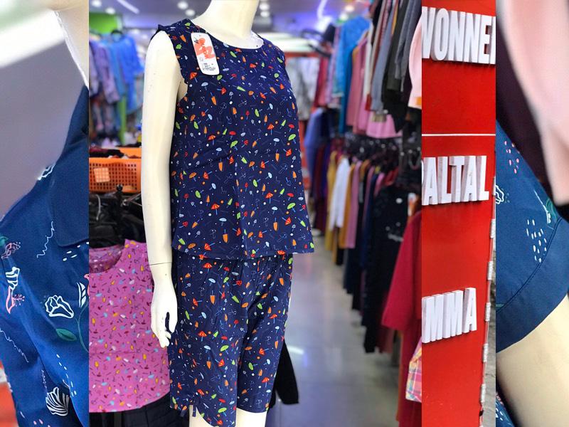Bộ mặc nhà lanh Wonnerful giá rẻ
