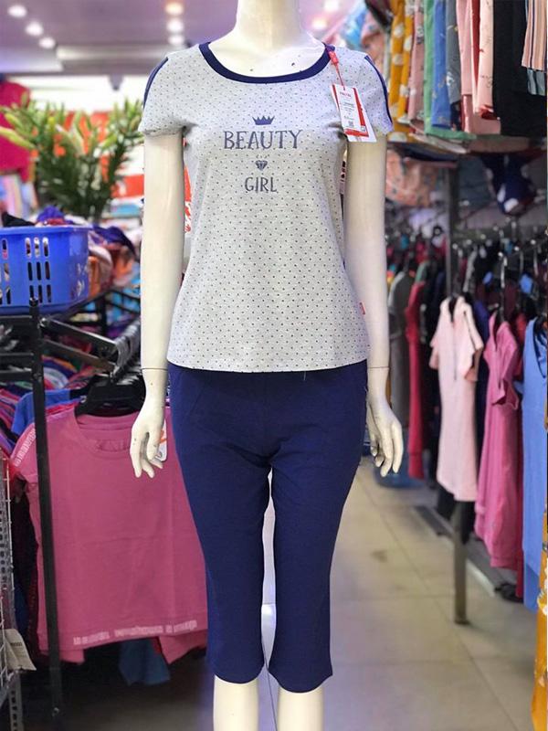 Bộ đồ mặc nhà cotton